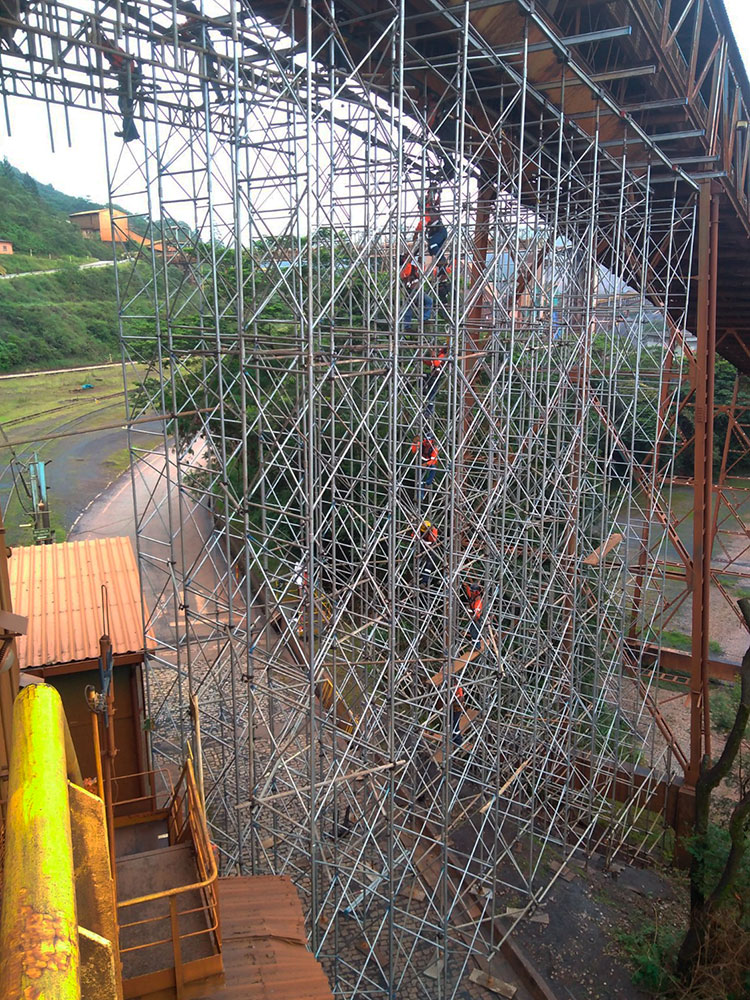 Espiral Engenharia: Andaimes Industriais