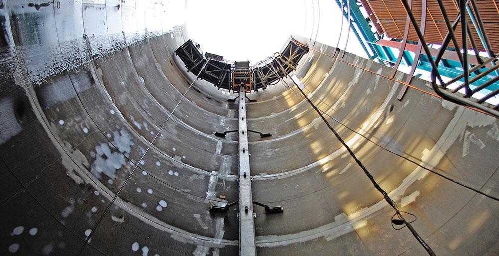Espiral Engenharia: Plataforma de Cremalheira